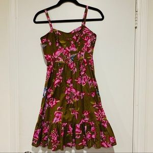 French Connection floral butterfly dress